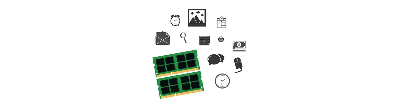 컴퓨터 부품 및 소셜 아이콘