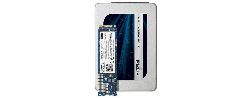 Crucial MX300 SSD 제품군