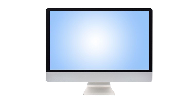 컴퓨터 모니터.