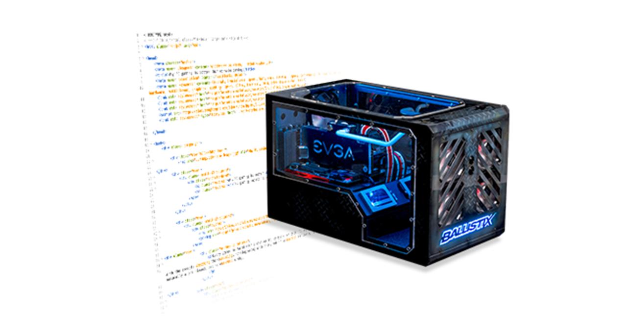 수정된 게임용 컴퓨터