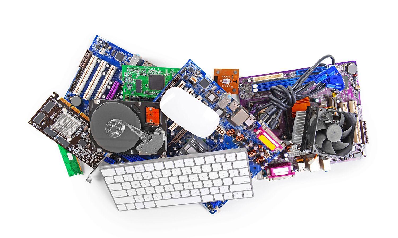 키보드와 마우스를 비롯한 컴퓨터 하드웨어